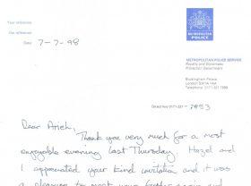 Testimonial 1998-MET-POLICE