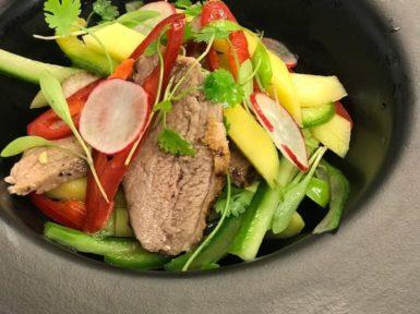 Food Starter Duck Vegetables