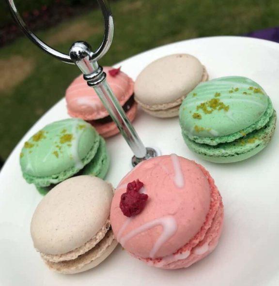 Food Dessert Tea Maccaroons Colours